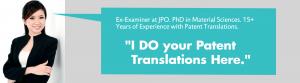Patent Translation Services