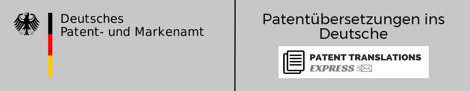 Patentübersetzungen ins Deutsche