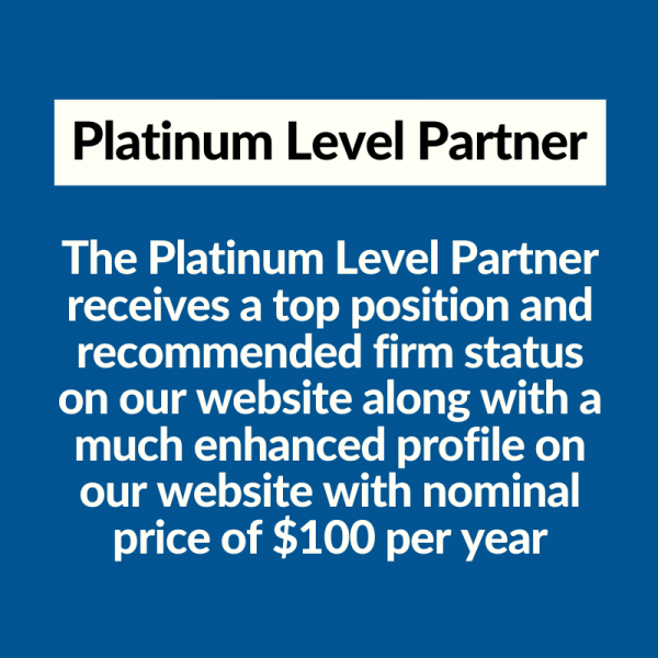 Platinum Level Partner