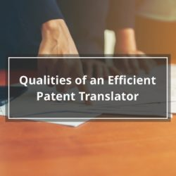 Qualities of an Efficient Patent Translator
