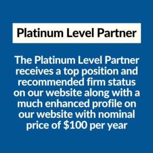 Platinum Level Partner